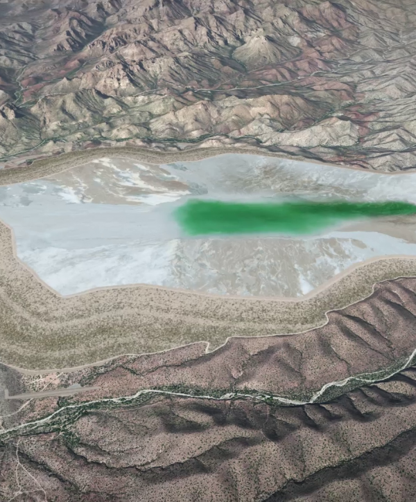 Resolution Copper's Arizona mining visualization