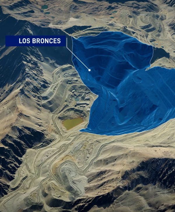 Anglo America's Los Bronces copper mine in Chile reimagines mining in the high mountain range
